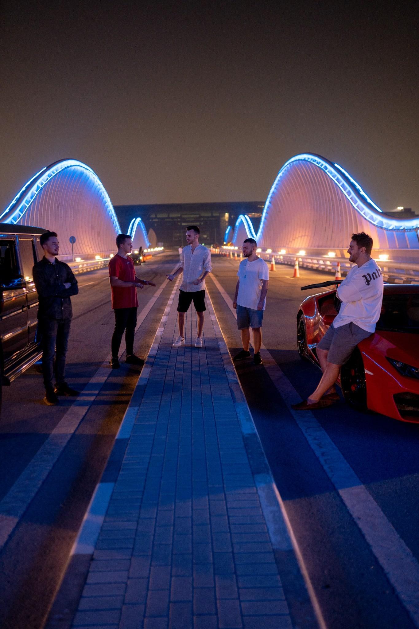 Niklas Pedde Instagram University Dubai Meydan Bridge Group Networking
