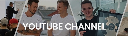 niklas pedde, youtube channel, banner, image collage