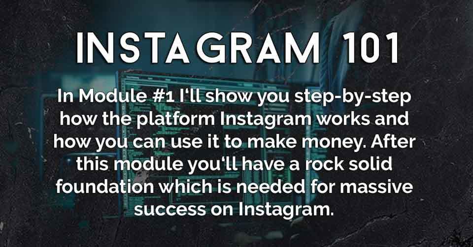 Instagram University Instagram 101 Module