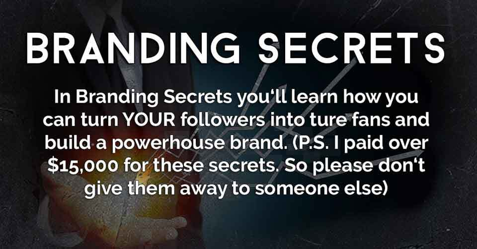 Instagram University Branding Secrets Module
