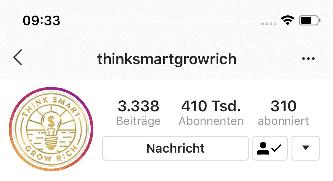 Niklas Pedde Instagram University Parter Account 7