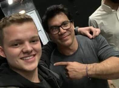 Niklas Pedde and Tai Lopez Backstage Show